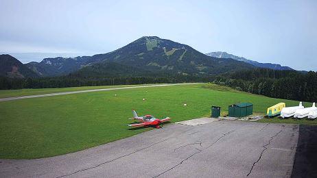 Blick vom Flugplatz Mariazell nach NW