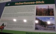 "Informationstafel ""Drei-Seen-Blick Weg"""
