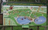Informationstafel Holzknechtland