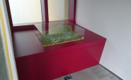 Ötscher Diorama - Aufbau