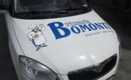 """Fahrzeugbeklebung """"Pizzeria Bomonti"""""""