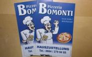 "Speisekarte ""Pizzeria Bomonti"""