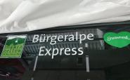 Beklebung Bürgeralpe Express - Foto: Ihr Internettischler