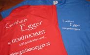 Bedruckte Polos - Gasthaus Egger