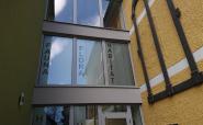 Fensterfolierung Sichtschutz Außenansicht