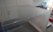 Sichtschutzfolierung Plexiglashaube