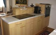 Küchenzeile nach dem Umbau