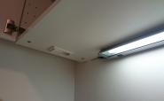 zusätzliche LED Beleuchtung und Steckdose