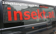 """Fahrzeugbeschriftung """"insekt.at"""""""