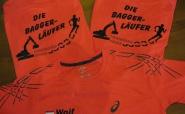 Einfallsreiches Logo: Die Bagger-Läufer