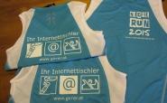 Unsere Firmenshirts - wir sind bereit!