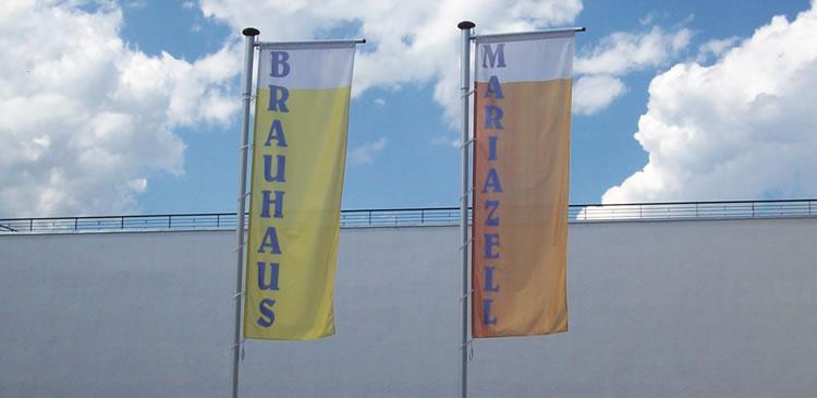 Hissfahnen - Brauhaus Mariazell