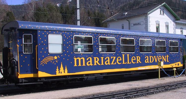 Waggon der Mariazellerbahn