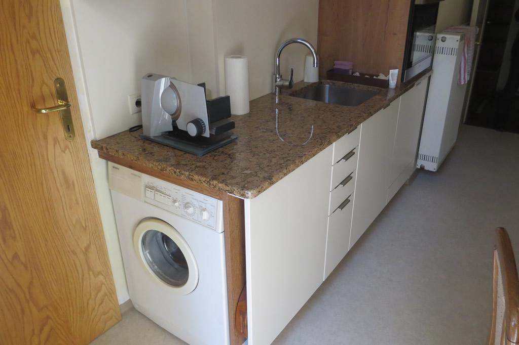 Waschmaschine in k che integrieren