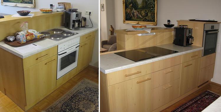 Umbau einer Küche