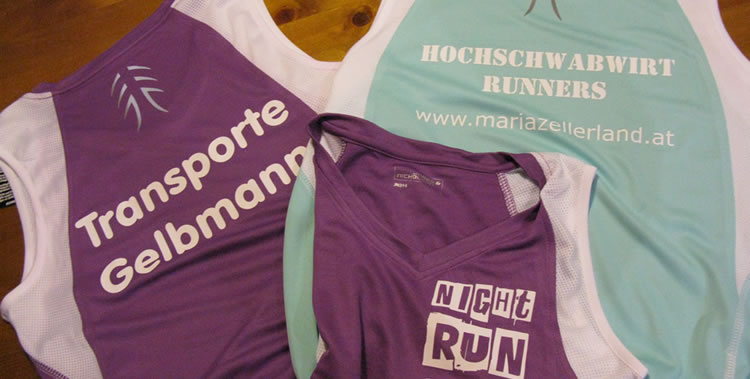 "Team-Shirts ""Night-Run 2015"""