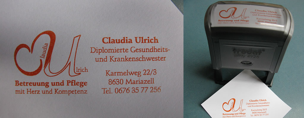 Stempel - Claudia Ulrich