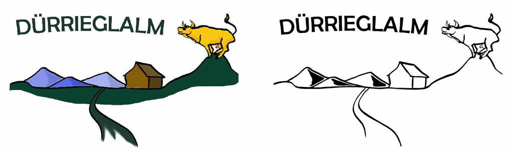 Logo Dürrieglalm