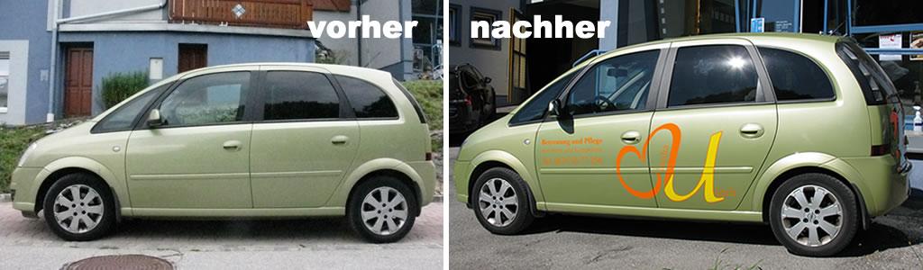 Fahrzeugbeklebung Ulrich